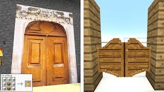 Minecraft: GERÇEK HAYATTAKİ KAPILAR