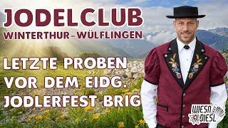 Der Jodelclub Winterthur-Wülflingen probt für das Eidg. Jodlerfest Brig 2017