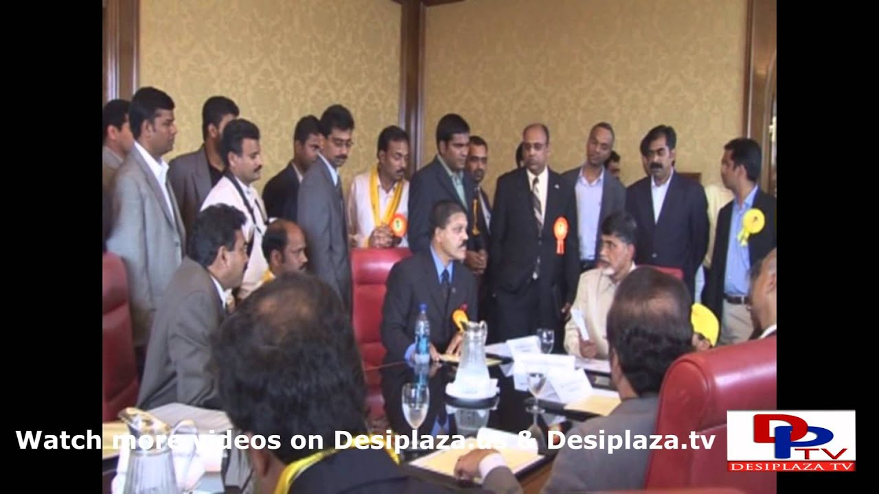 Part 5. Mr.Chandrababu Naidu's visit to Dallas in the year 2007.
