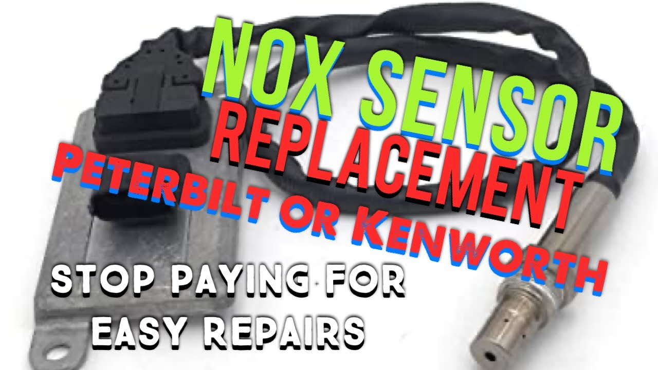 NOx Sensor Replacement On Paccar MX, DIY