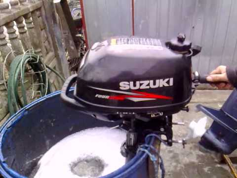 Suzuki 2 5 Hp Outboard Motor 2010r Four Stroke 4 Suw