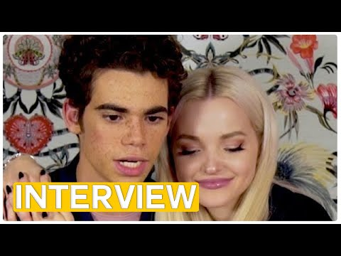Descendants 2 - Jay, Evie, Carlos & Mal exclusive interview (2017)