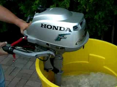 Honda 2 hp outboard youtube for Used honda boat motors