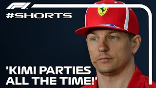 'Kimi Parties All The Time!' #Shorts