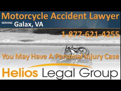 Galax Motorcycle Accident Lawyer & Attorney - Virginia