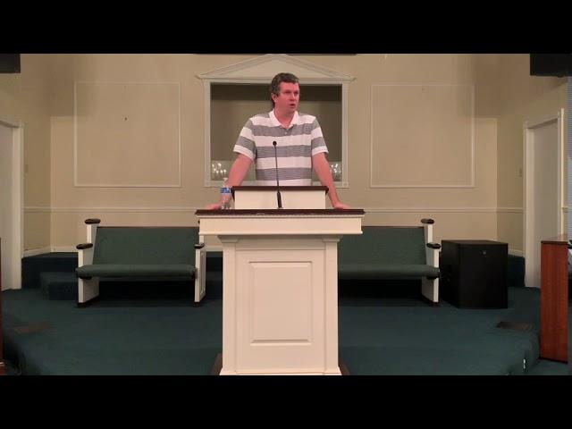 Wednesday Night Bible Study For September 9, 2020