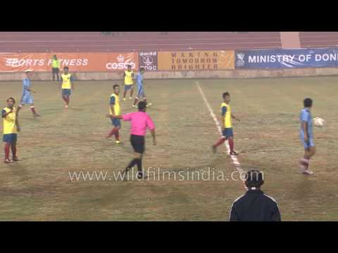 Football tournament opening match MAFC vs UUFC : Tamchon trophy in India