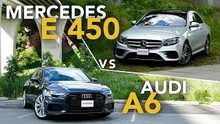 2019 Audi A6 vs Mercedes-Benz E-Class