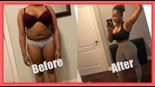 Slim Waist & THICK Thighs Workout⚠️FITNESS WARNING⚠️  You WILL Sweat A LOT‼️