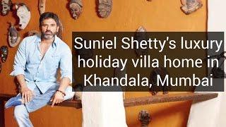 Gambar cover Suniel Shetty's luxury holiday villa home in Khandala, Mumbai | Celebrity Homes