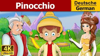 Pinocchio in German | Gute Nacht Geschichte | Märchen | Geschichte | Deutsche Märchen