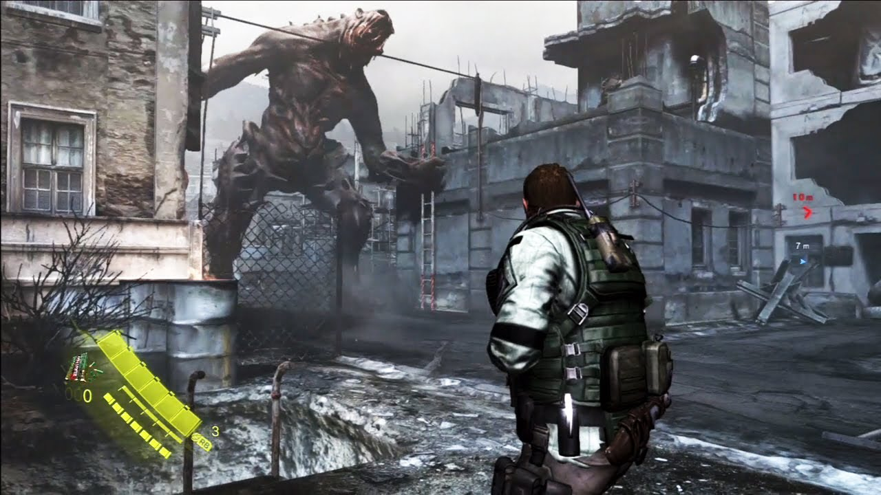 Resident Evil 6 Capitulo 2 Completo Chris Redfield Gameplay