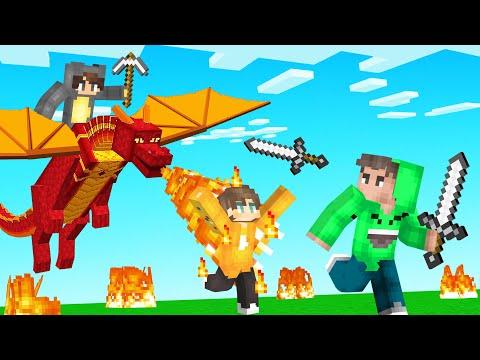 DRAGON TAMER Hunters VS Speedrunner! (Minecraft)