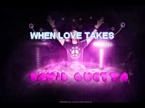 David Guetta - When Love Takes Over - Karaoke