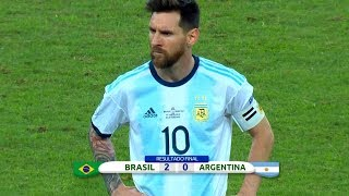 Lionel Messi Performances in Argentina's Hardest Losses ● The One To Blame? | HD