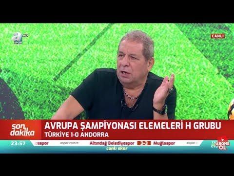 Türkiye 1 - 0 Androrra  Erman Toroğlu Maç Sonu Yorumları - Takım Oyunu / A spor