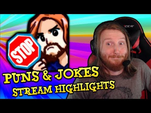 PUNS & JOKES ~ Stream Highlights