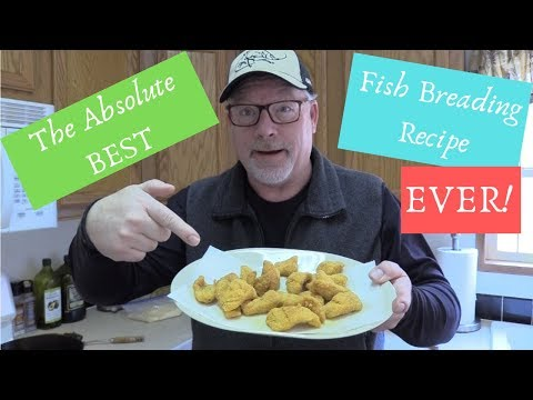 The Absolute BEST Fish Fry Breading Recipe EVER