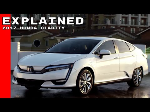 2017 Honda Clarity Electric Explained