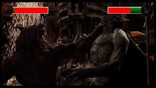 Video Dracula vs Van Helsing with health bars download MP3, 3GP, MP4, WEBM, AVI, FLV Oktober 2018