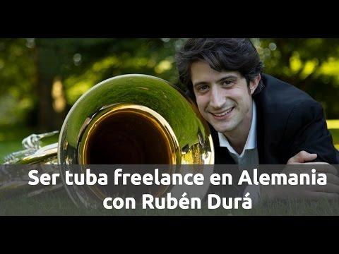 Ser tuba freelance en Alemania con Rubén Durá