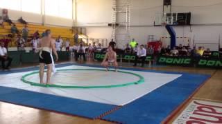 European Sumo Championship Mazedonien 2015