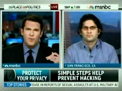 ReputationDefender CEO Michael Fertik Talks Personal Privacy Protections on MSNBC