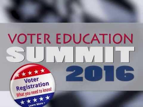 Voter Education Summit 2016