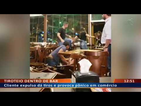 DF ALERTA - Cliente expulso dá tiros e provoca pânico em comércio