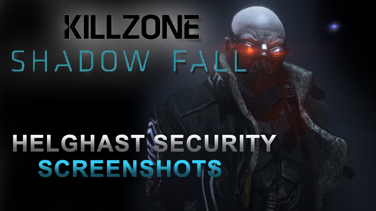 killzone shadow fall helghast security forces