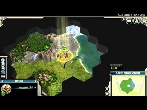 Civ 5 Gods and Kings - Arabia Start |