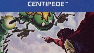 Classic Game Room - CENTIPEDE review for Atari 5200