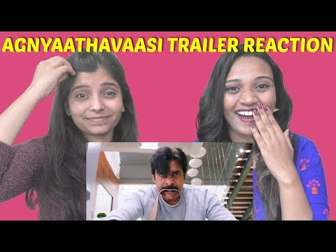 Agnyaathavaasi Theatrical Trailer Reaction...
