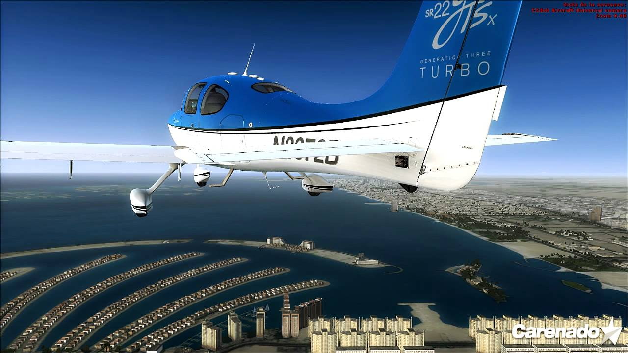 Carenado SR22 GTSx VS Cirrus Eaglesoft