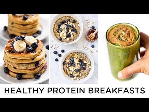 HEALTHY PROTEIN BREAKFASTS ‣‣ amazing gluten-free recipes