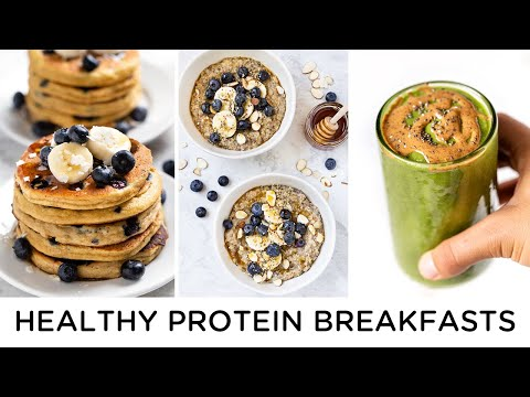 HEALTHY PROTEIN BREAKFASTS ‣‣ amazing gluten-free recipes