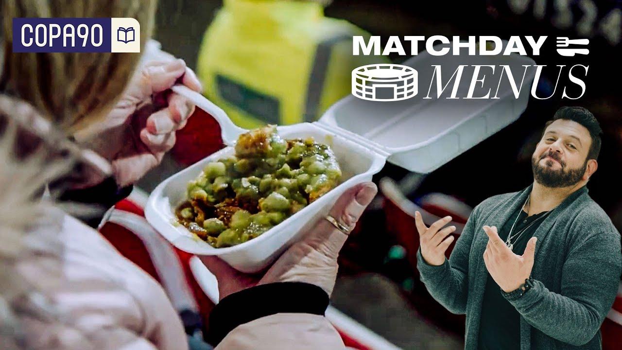 The Best Pie in Football?! | Matchday Menus with Adam Richman
