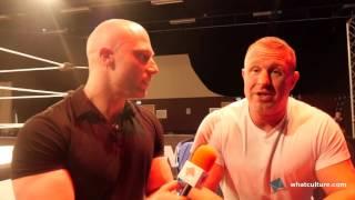 simon talks to doug williams about wrestling training