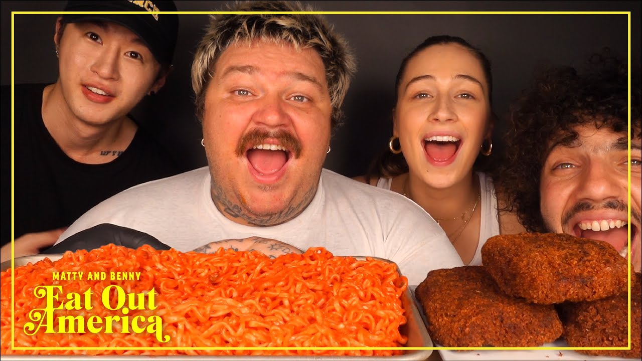 The Greatest ASMR Mukbang Video Ever With Zach Choi | Matty and Benny Eat Out America | Episode 8