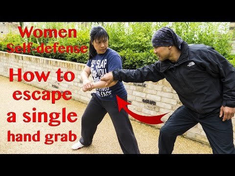 Women Self defense – How to escape a single hand grab | Wing Chun
