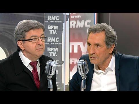 Échange tendu entre Mélenchon et Bourdin sur le Venezuela
