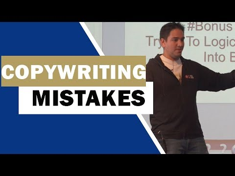 7 Biggest Mistakes Copywriters Make | Art Of Copywriting With Carlos Cruz