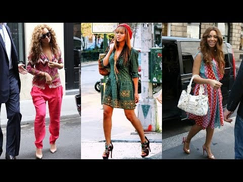 Top 10 Beyonce Street Style
