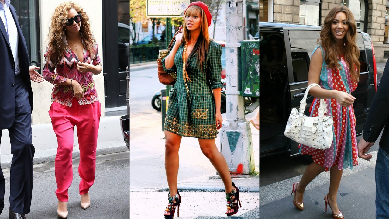 Fashion Hair Style: Top 10 Beyonce Street Style