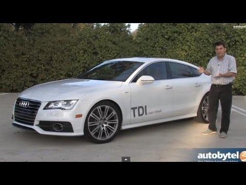 Audi A TDI Test Drive Diesel Car Video Review YouTube - Audi car a7