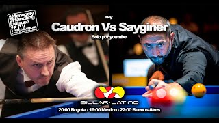 SEMIH SAYGINER VS FREDERIC CAUDRON FINAL NEW YORK 2007