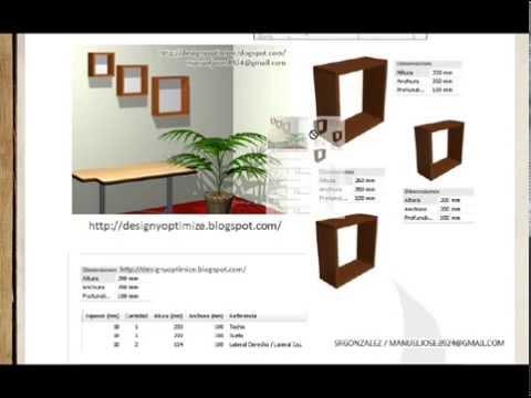 Construir cubos decorativos de mdf melamina madera - Cubos de madera ...