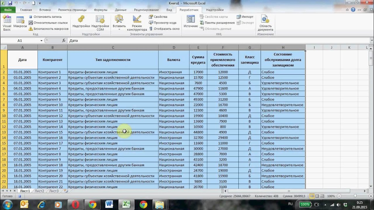 Группировка данных и подведение итогов с использованием макросов Excel