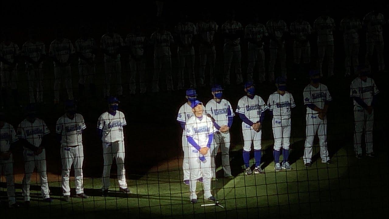 横浜DeNAベイスターズ本拠地全試合終了後三浦監督挨拶