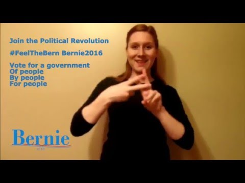 Bernie Sanders For President 2016 Burlington, IA EW2 mp4